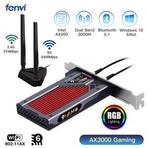 Сетевая карта Fenvi AX3000 Gaming