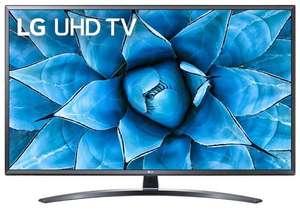 """Телевизор LG 49UN74006LA 49"""" (2020) черный 4K Smart TV"""