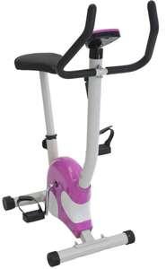 Велотренажер Bradex Сплэш белый/фиолетовый (SF 0057)