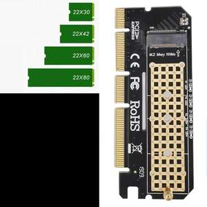Переходник на M.2 NVMe SSD с PCIE 3,0 BTBcoin