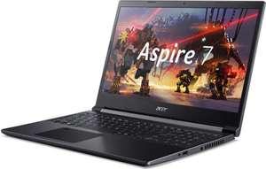 "Ноутбук ACER Aspire 7 A715-41G-R4HH 15.6"", AMD Ryzen 5 3550H 2.1ГГц, 8ГБ, 256ГБ SSD, nVidia GeForce GTX 1650 Ti NH.Q8QER.008"