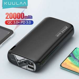 Power bank KUULAA 20 000mah Type-C 2.1а