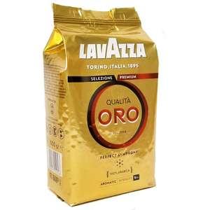 Кофе Lavazza Qualita Oro, 1 кг (581 с бонусами)