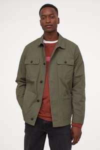 Куртка-рубашка из твила ( 3 цвета )