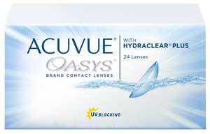 Контактные линзы Acuvue OASYS with Hydraclear Plus (24 линзы) R 8,4 D -2,75
