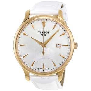 Часы Tissot Tradition Mother of Pearl Dial Ladies 42mm Watch T063.610.36.116.01
