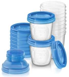 Продукция Philips Avent по акции 3=2 (напр. Контейнеры для хранения грудного молока SCF618/10)