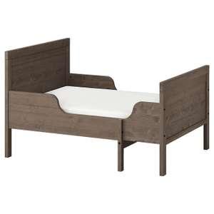 Раздвижная кровать с реечным дном СУНДВИК, 80x200 см