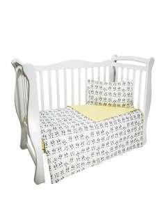 Комплект в кроватку AmaroBaby BABY BOOM, поплин, 3 предмета, простыня на резинке