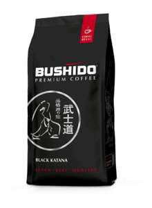 [Оренбург] Кофе Bushido Black Katana 227г. молотый