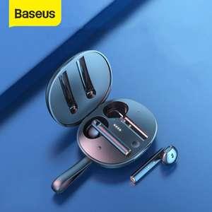 TWS-наушники BASEUS W05 (беспроводная зарядка чехла)
