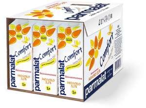 Молоко Parmalat UHT Comfort, безлактозное, 3,5%, 1 л х 12 шт
