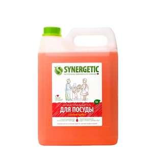[Мск и МО] Средство для мытья посуды Synergetic арбуз 5 л