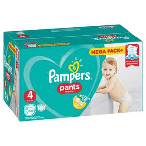 Трусики PAMPERS Pants Maxi 9-14 кг (8-14 кг) Mega 104