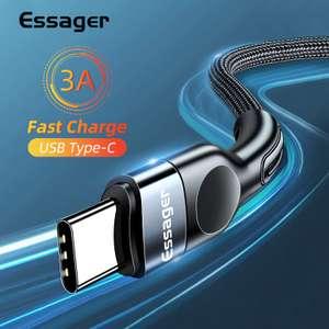 USB Type-C кабель Essager 3А