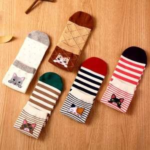 Милые зимние носочки