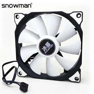 Вентиляторы Snowman 4 Pin PWM 120 мм с RGB и без