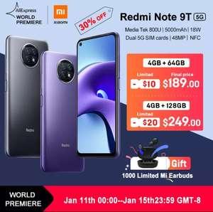 Смартфон Xiaomi Redmi Note 9T, 5G