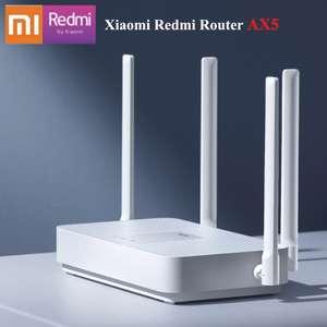 Роутер Xiaomi Redmi AX5 (Wi-Fi 6, 2.4/5 ГГц, 1 Гбит/с)