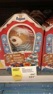 [Саратов] Пирожное Медвежонок Барни с игрушкой