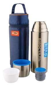 Термос вакуумный, крышка-чашка Biostal, 1 л