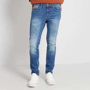 -10% на распродажу в Kiabi, напр, мужские джинсы L30 Eco-conception (рр 42-50)