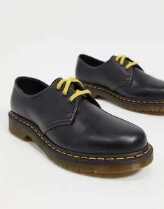 Темно-серые туфли Dr Martens 1461