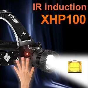 Налобные фонари L2 A и XHP100 B (скидка применяется при покупке двух)