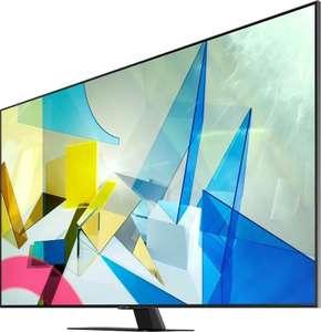 "4K UHD Телевизор Samsung QE50Q80TAUXRU 50"" + Яндекс.Станция"