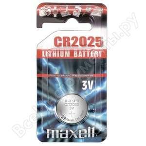 Литиевая батарейка MAXELL CR2025
