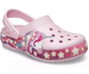 Скидка 50% на Crocs (не все), например, детская линия Kids' Funlab