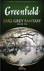 Черный чай листовой Greenfield Earl Grey Fantasy, 200 г