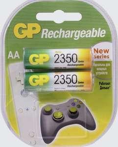 Аккумуляторные батарейки GP Batteries, Ni-Mh, тип AA, 2350 mAh (GP 235PROAAHC-2CR2), 1.2V, 2 шт