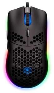 Игровая мышь проводная JETACCESS PANTEON PS100, черный