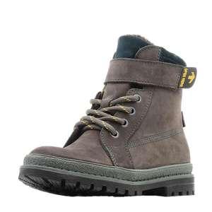 Детские ботинки унисекс, натуральный мех (размеры: 30-32)