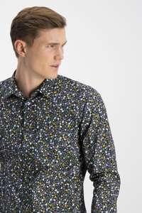Рубашка SMOG с цветочным принтом