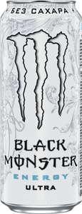 Энергетический напиток Black Monster Ultra, 12 шт по 449 мл