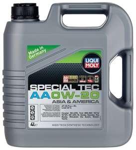 Полусинтетическое моторное масло LIQUI MOLY Special Tec AA 0W-20 4 л