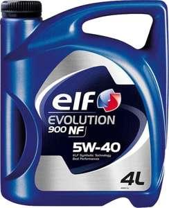 [не везде] Моторное масло ELF Evolution 900 NF 5W-40 4л. синтетическое