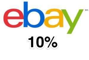 -10% на все на eBay