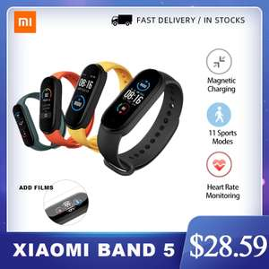 Фитнес-трекер Xiaomi Mi Band 5 NFC Bluetooth 5,0