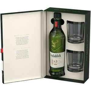 Glenfiddich 12 лет 0,7 и другие крепкие напитки в подарочной упаковке