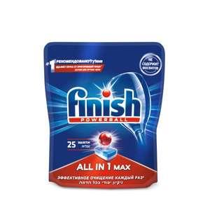[Набережные Челны] Таблетки для ПММ Finish All in 1 Max, 25 шт.