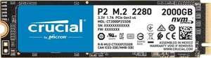Crucial P2 M.2 SSD NVMe 2TB (доставка из Германии)
