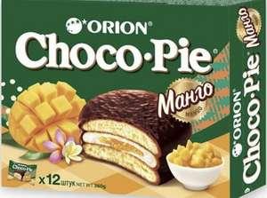 [МСК] Печенье Orion Choco Pie, манго, 360г