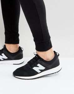 Черные кроссовки New Balance за 4290р. + доставка бесплатно. Обычная цена 5690р.