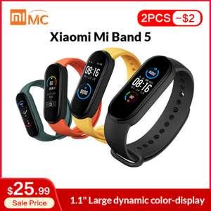 Фитнес-браслет Xiaomi Mi Band 5 (Global Version)