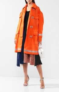 Пальто CALVIN KLEIN с накладными карманами