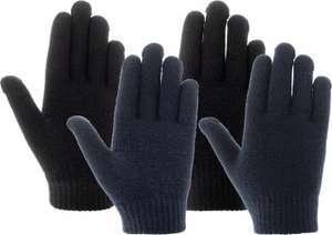 Перчатки для мальчиков IcePeak HIGHLAND JR, 2 пары (на возраст 3-7 лет)