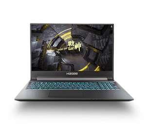 """Ноутбук Hasee Z8-CA7NS 15,6""""' 16+512 Гб"""